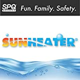 SunHeater Pool Heating System Two 2' x