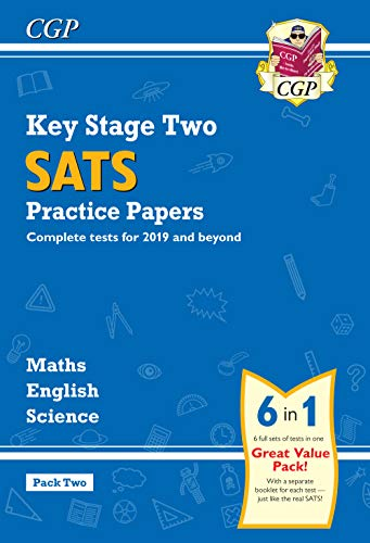 New KS2 Complete SATS Practice Papers Pack: Science, Maths & English (for the 2019 tests) - Pack 2 (CGP KS2 SATs Practice Papers)