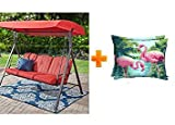 Mainstay 3 Seat Porch & Patio Swing (Tan) (Tan)