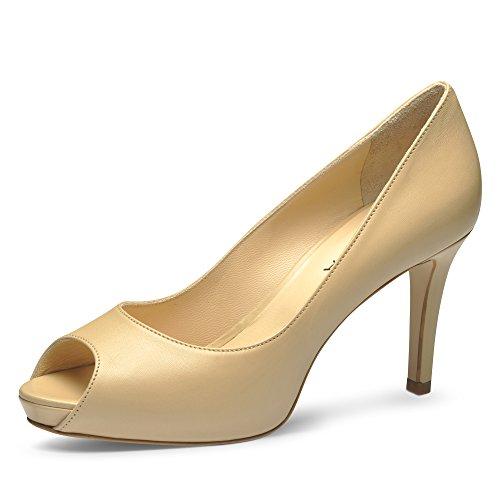 hellbeige Scarpe Shoes Beige Donna Tacco Col Evita nagw8xqFq
