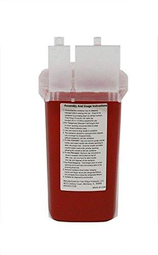 Oakridge Products 1 Quart Size Sharps and Needle Container | Integrated Needle unwinder by OakRidge Products (Image #7)