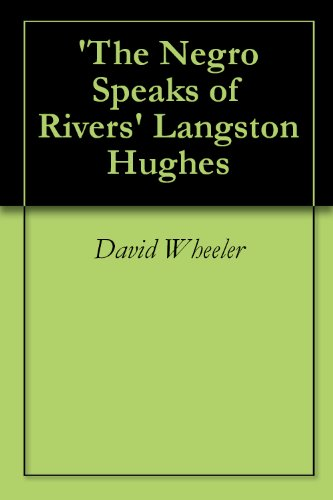 hughes the negro speaks of rivers