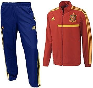 adidas Chandal Selección Española 2013: Amazon.es: Deportes y aire ...