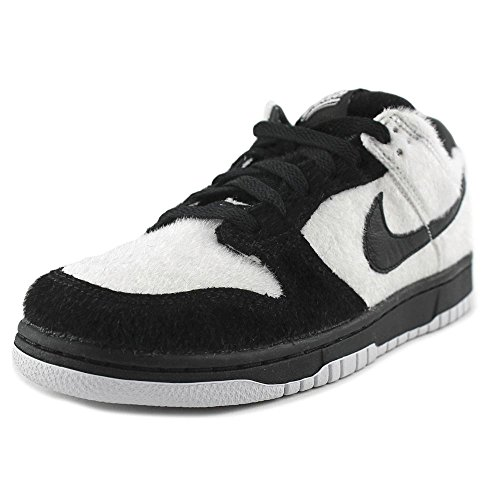 Nike Dunk Low PRM QS G Youth Round Toe Synthetic Black Sneakers