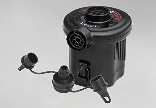 Bomba de aire de batería de llenado rápido Intex (batería de 6 celdas C), máx. Flujo de aire 13.4CFM