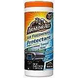 Armor All FRESHfx - Eliminador de olores rápido, Toallitas Protectoras, 25 Wipes