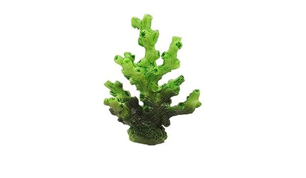 LMKIJN Decoración del Tanque de Peces Ornamento Coralino del Arrecife Artificial del Mini Acuario para la decoración del Paisaje del Acuario para la ...