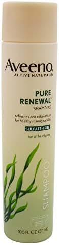 Aveeno Shampoo Pure Renewal (Sulfate-Free), 10.5 Fl Oz (3 Count)