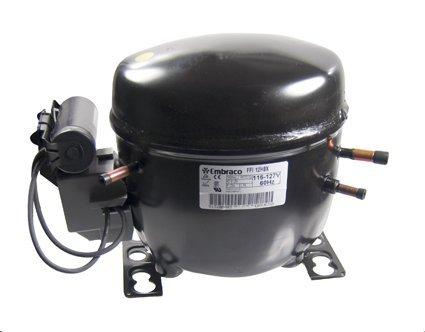 Embraco FFI12HBX1 Replacement Refrigeration Compressor 1/3 HP R-134A R134A 115 Volt ()