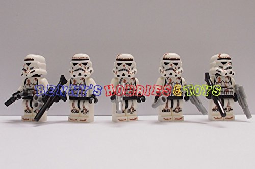 [5 x Storm Clone Troopers with 2 Guns] (Female Adventurer Costume Ideas)