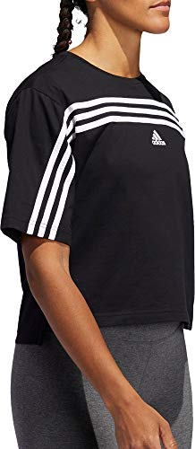 adidas Women's Must Haves Ringer 3-Stipes T-Shirt 4