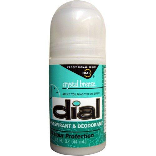 Dial Crystal Breeze Anti-Perspirant Deodorant Roll-On - 1.5