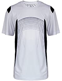 Mens Short Sleeve Performance Shirt Lightweight Athletic Running Sport Dry fit Tee Shirts S-3XL