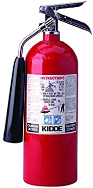 Kidde 466180 Pro 5 Carbon Dioxide, Food and Electronic Safe, Environmentally Safe, Fire Extinguisher, UL Rated