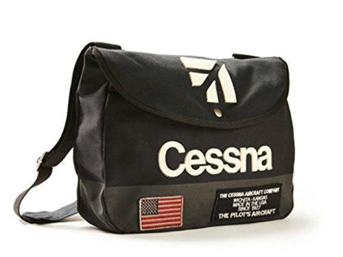 Red Canoe - Cessna Shoulder Bag | U-BAG-CESSSB-NY (Canoe Red)