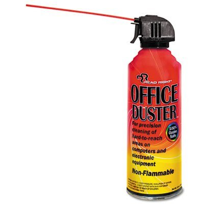 OfficeDuster Gas Duster, 10oz Can, Total 12 EA, Sold as 1 Carton