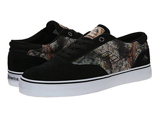 Emerica Men's The Provost Bud Hunter Skateboarding Boot, Black/Print, 7 M US