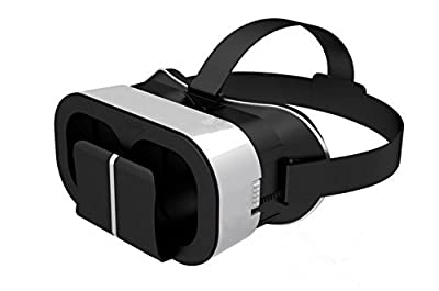 """3D VR Headset, Ubiziki VR Glasses Virtual Reality Box Google Cardboard For IOS/Adroid Within 4.0""""-6.0"""" Smartphone"""