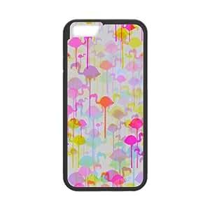 IPhone 6 Case Flamingo Pattern for Teen Girls Protective, Iphone 6 Cases for Girls for Teen Girls Protective [Black]