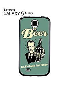 Beer Cheaper Than Therapy Vintage Cell Phone Case Samsung Galaxy S4 Mini White