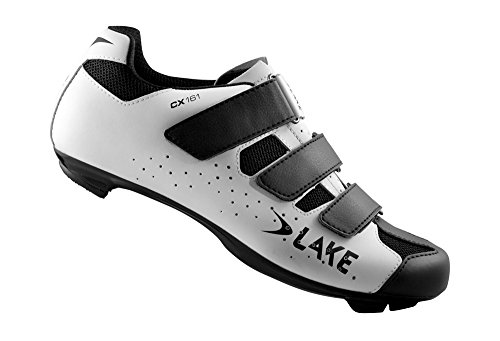 Lake CX161 Shoes - white black, eu 41 by Lake