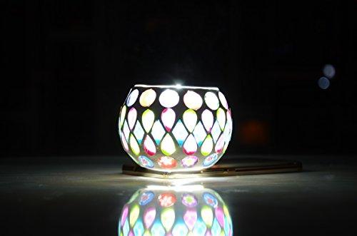 metallic wax lamp - 4