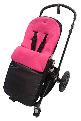 Chicco saco/Cosy Toes Compatible con Urban Londres Echo Multivia Lite Way, color rosa os