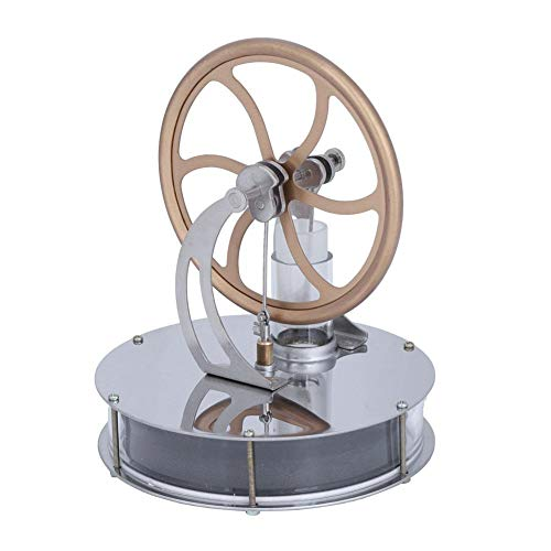 Riuty Stirling Engine, Low Temperature Stirling Engine Model Motor Power Generator Toy ()