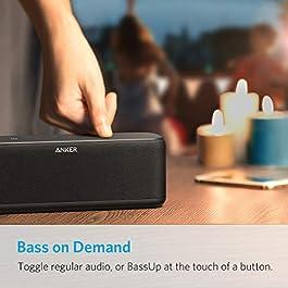 Anker Bluetooth Lautsprecher, 20W Bluetooth Speaker mit BassUp