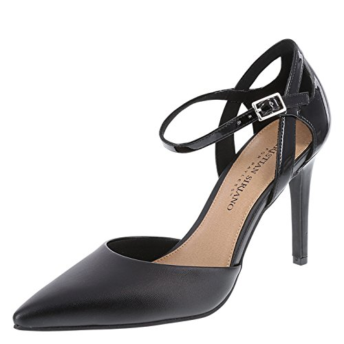 Christian Siriano for Payless Women's Black Klarissa 2-Piece Pump 7 Regular