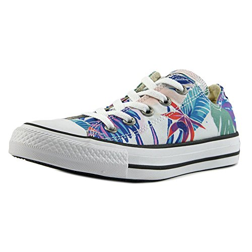 Converse Chuck Cyan Magenta Tropical Print Stars Low Trainers Canvas All Top Mens Fresh Taylor OX White Or5awO