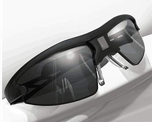 DIYUN Inteligente Cambio de Color de Las Gafas de Sol para los Hombres, conducción Polarizador, Cambio de Chip de…
