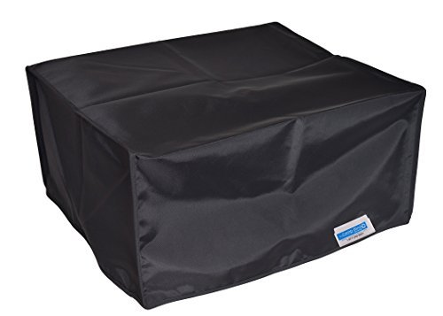 Comp Bind Technology Printer Dust Cover for Epson Expression ET-7700 Eco Tank All-in-One Printer, Black Nylon Anti-Static Dust Cover By Comp Bind Technology Size 16.7''W x 14.3''D x 7.7''H'' CB3266
