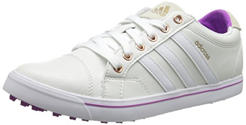 adidas Women's W Adicross IV Golf Shoe, Tour White/FTW White, 7.5 M...