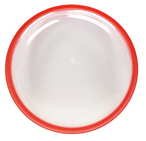 (50 Strong Flying Disc with Soft Edge - Easy to Throw and Catch - Perfect for Kids, Adults, Swimming Pool, Beach, Summer Game - Floats in Water - ONE DISC)