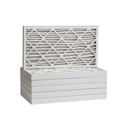 Tier1 Replacement for 20x25x2 Merv 8 Pleated Dust & Pollen AC Furnace Air Filter 6 Pack