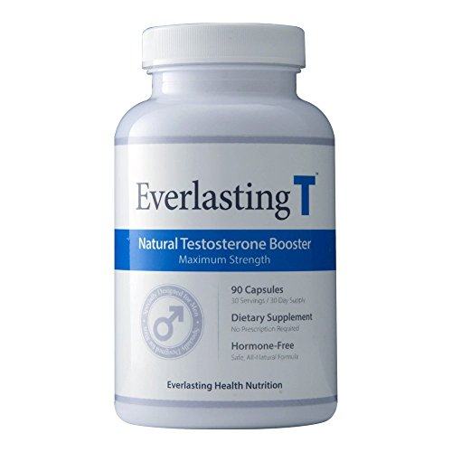 Everlasting T - Testosterone Booster - Natural Testosterone Supplement - Proven Ingredients to