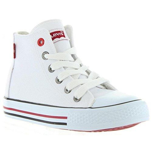 Levis Sneaker für Junge und Mädchen und Damen VTRU0001T Trucker Hi 0061 White