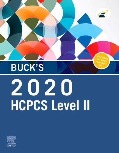 Buck's 2020 HCPCS Level II - http://medicalbooks.filipinodoctors.org