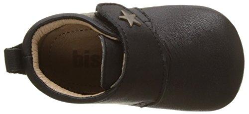 Bisgaard Velcro Star, Zapatillas de estar Por Casa Unisex Niños negro (50 black)