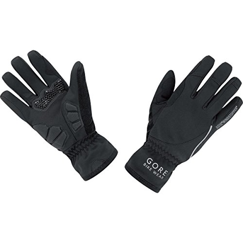 GORE BIKE WEAR Women's Power Lady Windstopper Gloves, Black, Small (Windstopper Gore)