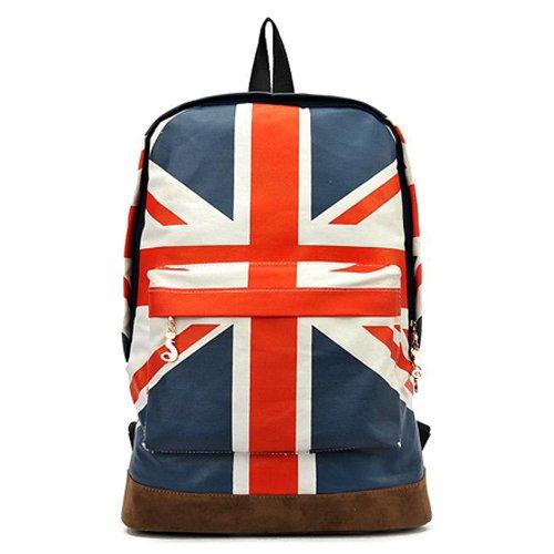 Tobey Unisex Canvas Uk Flag ShoulderBag Should Bag Handbag School ...