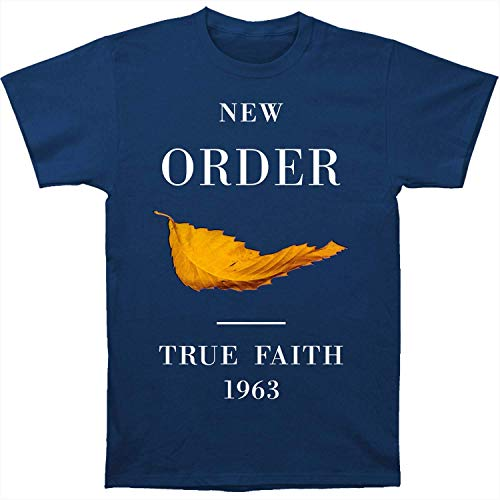 New Order True Faith Fitted Jersey tee (Large)