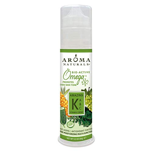 Aroma Naturals Vitamin K plus A and C Omega-X Moisturizing Vitamin Cream, 3.3 ()