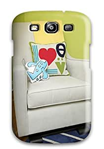 Cute Tpu DustinHVance Glider With Fun Colorful Pillows In Contemporary Nursery Case Cover For Galaxy S3