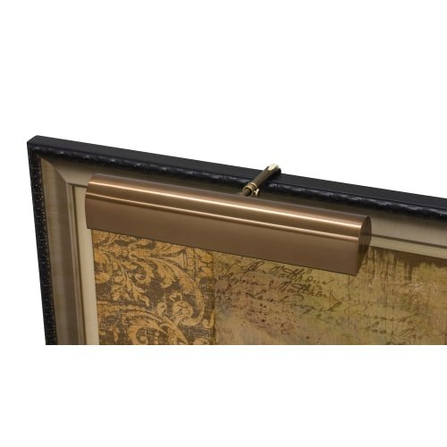 House of Troy T14-56-CA Classic Traditional 2LT 14IN Picture Light, Statuary Bronze Finish