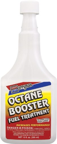 Berryman (1512-12PK) Octane Booster Fuel Treatment - 12 oz., (Pack of 12) by Berryman Products