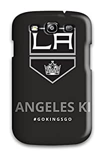New Snap-on AmandaSMartin Skin Case Cover Compatible With Galaxy S3- Los-angeles-kings Los Angeles Kings (2) by lolosakes