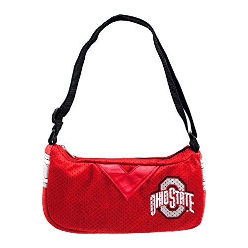 Littlearth NCAA Ohio State Buckeyes Team Jersey - Jersey Purse Littlearth
