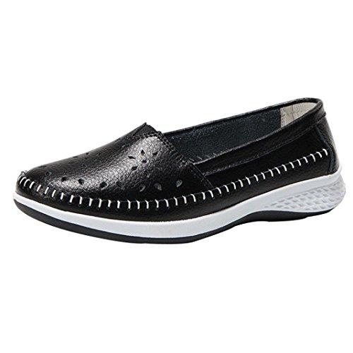 Plataforma Mujer C Zapatillas Zapatos Oto de Cuero PAOLIAN para o de Escolares Deporte wqqOZtvg